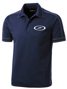 Storm Men's Code Performance Polo Bowling Shirt Dri-fit Navy Un Enrichit Et Nutritif Pour Le Foie Et Les Rein