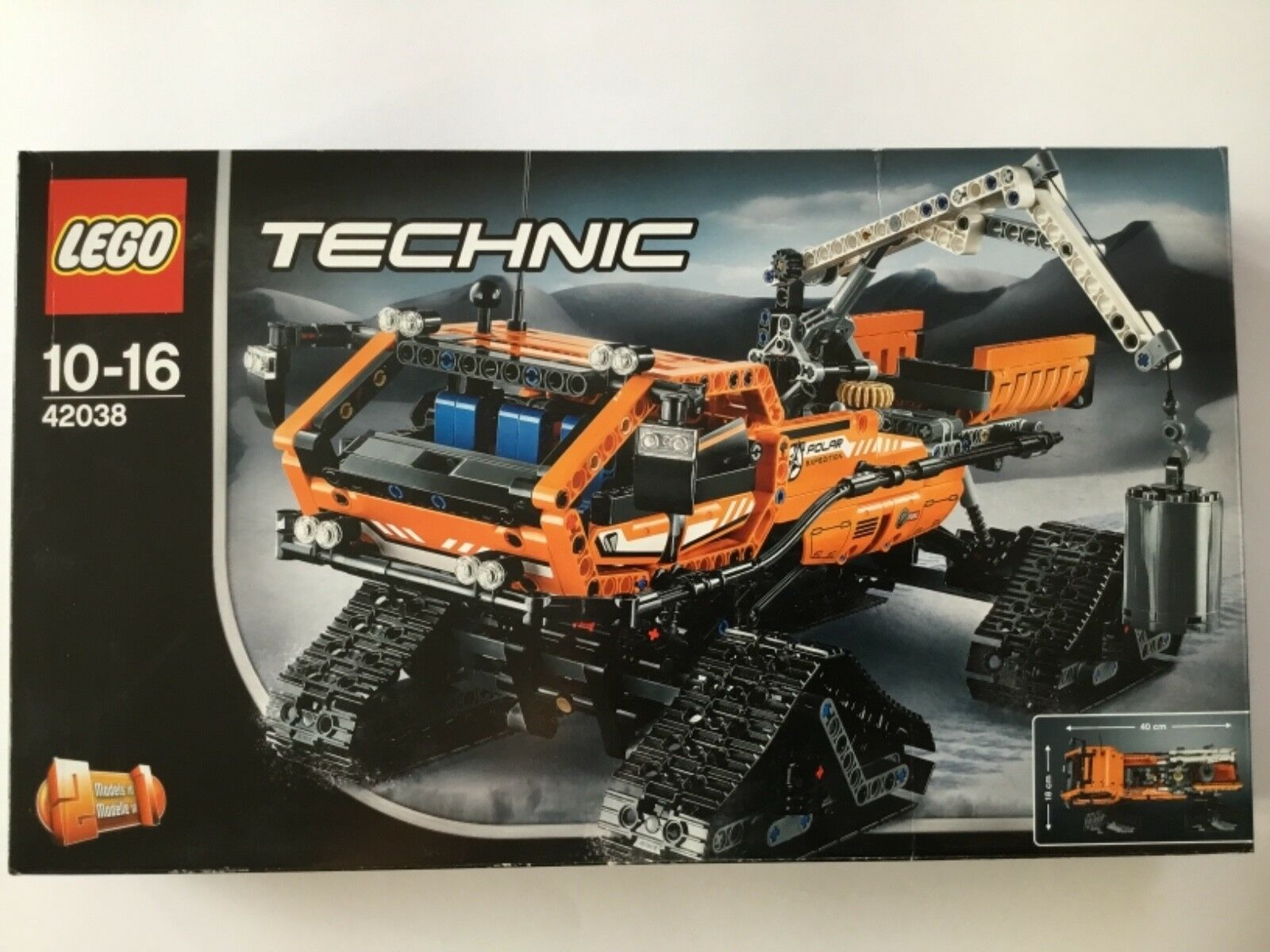 LEGO Technic 42038 - Arktis-Kettenfahrzeug - NEU OVP - Karton hat Knicke