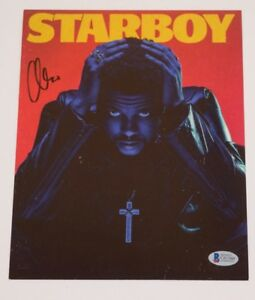 The-Weeknd-Abel-Tesfaye-Starboy-Signed-Autograph-8x10-Photo-Beckett-BAS-COA