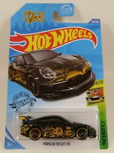 Porsche 911 GT3 RS - Tanner Fox - Black/Gold | HW Exotics 4/10 | HW 162/250