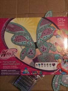 Winx Club Fairy Wings Mosaics By Numbers 575 Pieces