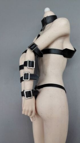 Black SM torture Clothing For 30cm phicen hotsutff toys T9 1//6 scale accessory