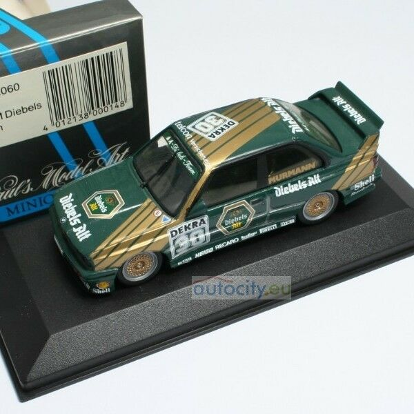 Minichamps bmw m3 DTM Team mm Diebels murmann bnr002060