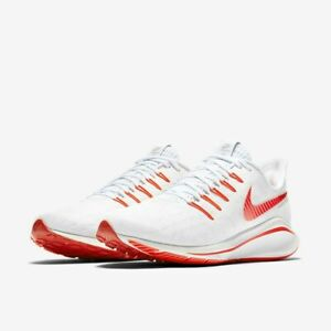 Da-Donna-Nike-Air-Zoom-Vomero-14-Scarpe-Da-Corsa-UK-3-5-US-6-EUR-36-5-Bianco-Rosso