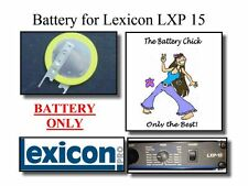 Battery for Lexicon LXP 15 Effects Unit - Internal Memory Replacement Battery