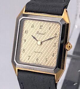 100% QualitäT Bassel Dc-5000 Kal. 978.002 Vintage Watch Quartz Uhr 20 Mm Nicht Ein Unverzichtbares SouveräNes Heilmittel FüR Zuhause