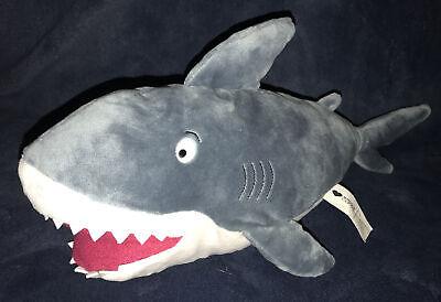"""Kohl/'s Cares SHARK Plush Toy Stuffed 15/"""" Dan Santat Book Character /""""Dude/"""" NWT"""