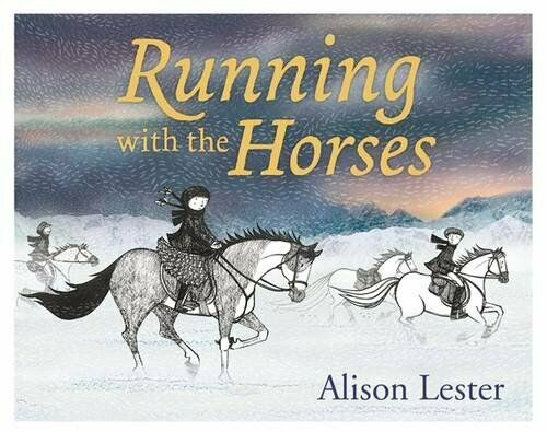 Running with the Horses by Alison, Lester Hardback Book The Fast Free Shipping