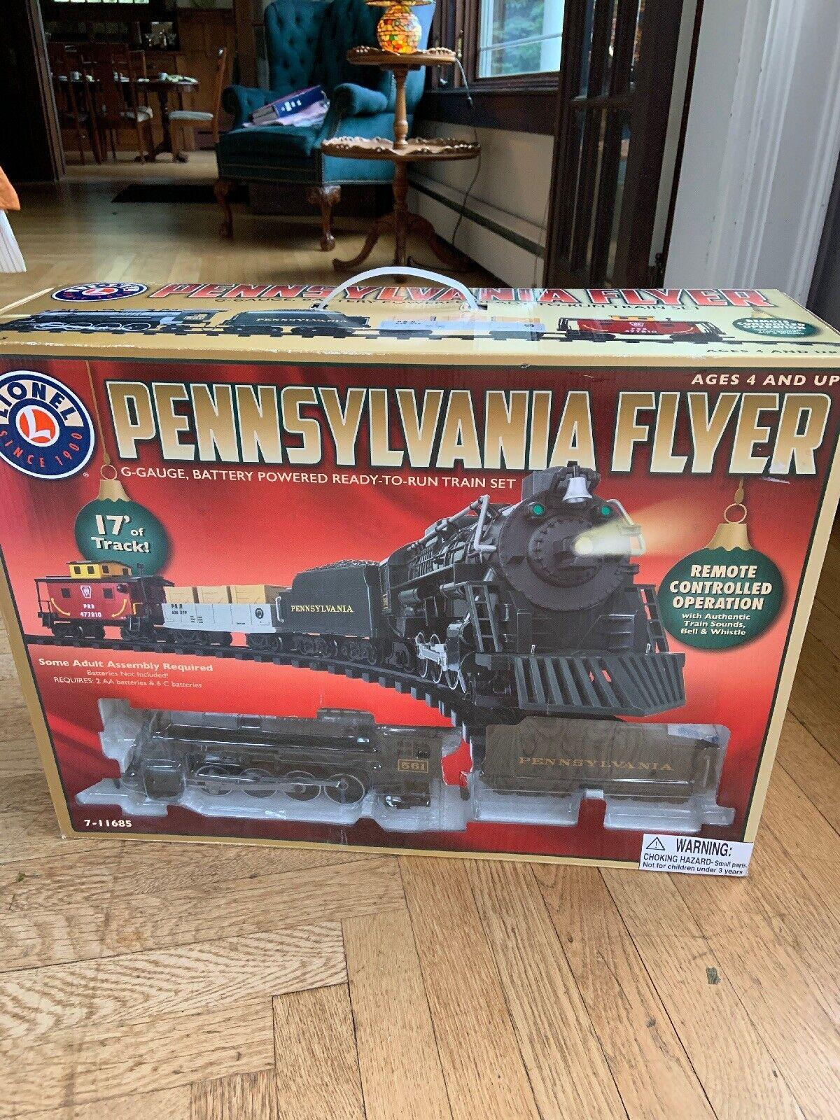 Lionel Pennsylvania Flyer Treno, GGauge pronto a correre con telecouomodo, nuovo in scatola  225