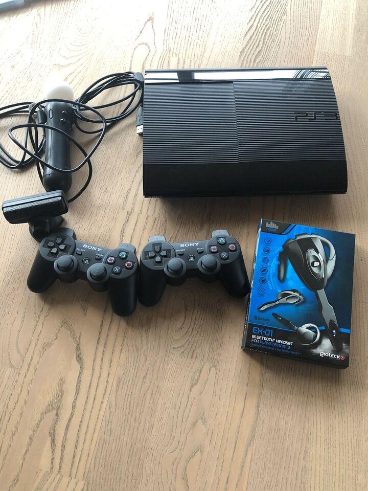 Playstation 3, Slim 500GB, Perfekt