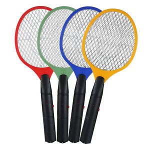 Electric-Bug-Pest-Insect-Fly-Handheld-Racket-Zapper-Killer-Mosquito-Swatter-RJ