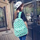 Fashion Travel Girls Women Canvas Satchel Shoulder Backpacks School Bag Rucksack