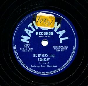 The-RAVENS-on-1949-National-9089-Someday-If-You-Didn-039-t-Mean-It