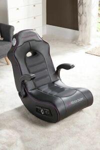 Fantasma Sedia A Dondolo.X Rocker Gaming Chair A Dondolo Fantasma 2 1 Nero Audio Gt86 Ebay