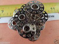 20 Metal Bobbins Fit Bernina Activa 125,130,131,135,140,145,210 ,220,230 ,240