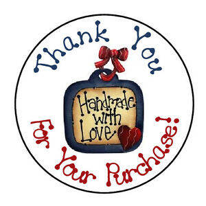 24-PERSONALIZED-THANK-YOU-HANDMADE-WITH-LOVE-FAVOR-LABELS-ROUND-STICKERS-1-67-034