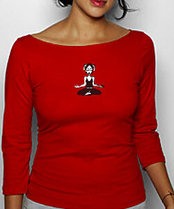NEWTG DIY American Apparel yoga shirt top yoga OM AUM