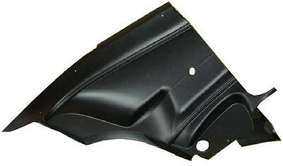 70 71 72 73 74 Barracuda Cuda Rear Quarter Trim Panels Black Plastic Molded