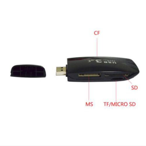 Mini USB 3.0 High Speed Memory Card Reader For Micro SD MS SDHC C TF All In One