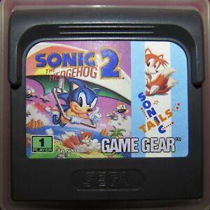 Sega Game Gear Sonic The Hedgehog 2 Cartridge European Rare Region Free B Ebay