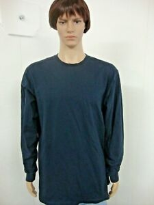 Mens-Duluth-Trading-Co-Size-XL-Blue-Long-Sleeve-Pullover-Shirt