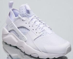 65dba1fd536 Nike Air Huarache Run Ultra Men s New White Casual Lifestyle ...