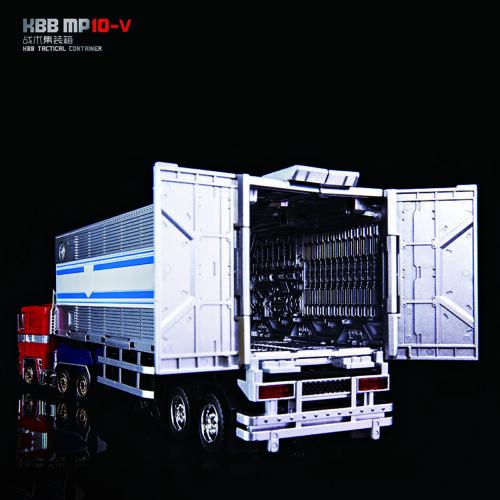 Transformer KBB Mp10-v Trailer Optimus Prime Alloy Version Can Match Mp10-V