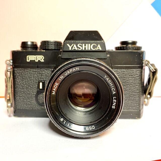 Yashica FR SLR Filmkamera DSB 50mm 1:1 .9 Yashica Objektiv, neue Dichtungen! Film Getestet