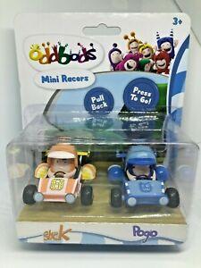 Oddbods-Mini-Racers-Set-of-2-Figures-POGO-amp-SLICK-NEW-Worldwide-Shipping
