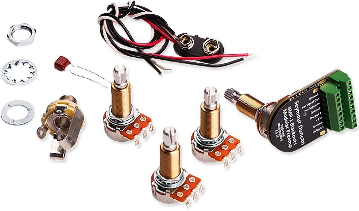 Seymour Duncan Duncan Duncan negroouts Modular Electric Guitar Preamp, Eje Largo  70% de descuento