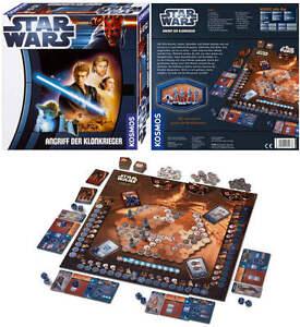 NEU-KOSMOS-Star-Wars-angriff-der-klonkrieger-Das-Spiel-NEU-amp-OVP-Brettspiel