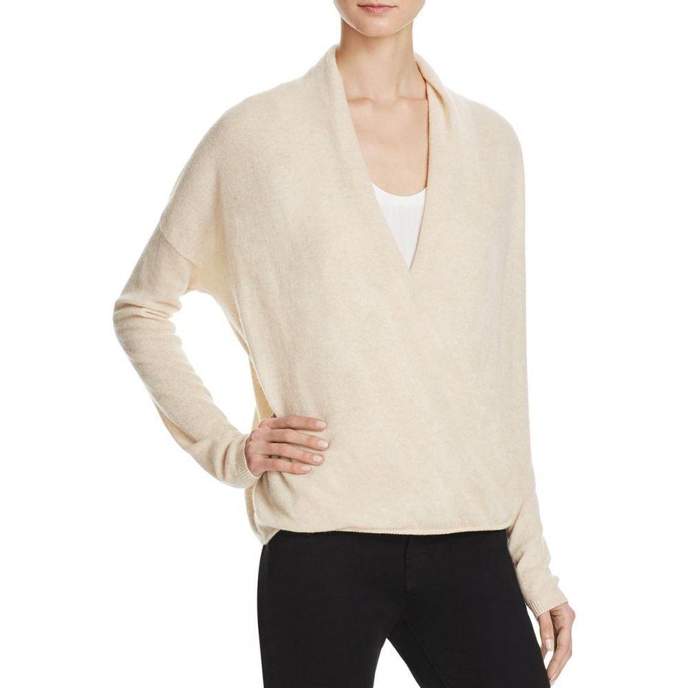 NEW JOIE Women's Lien Cashmere Drape Front Sweater SZ M