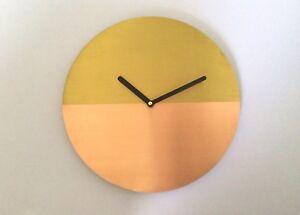 Handmade-Real-Copper-Wall-Clock-Brass-Clock-Metal-Wall-Clock-Wall-Decor-Design