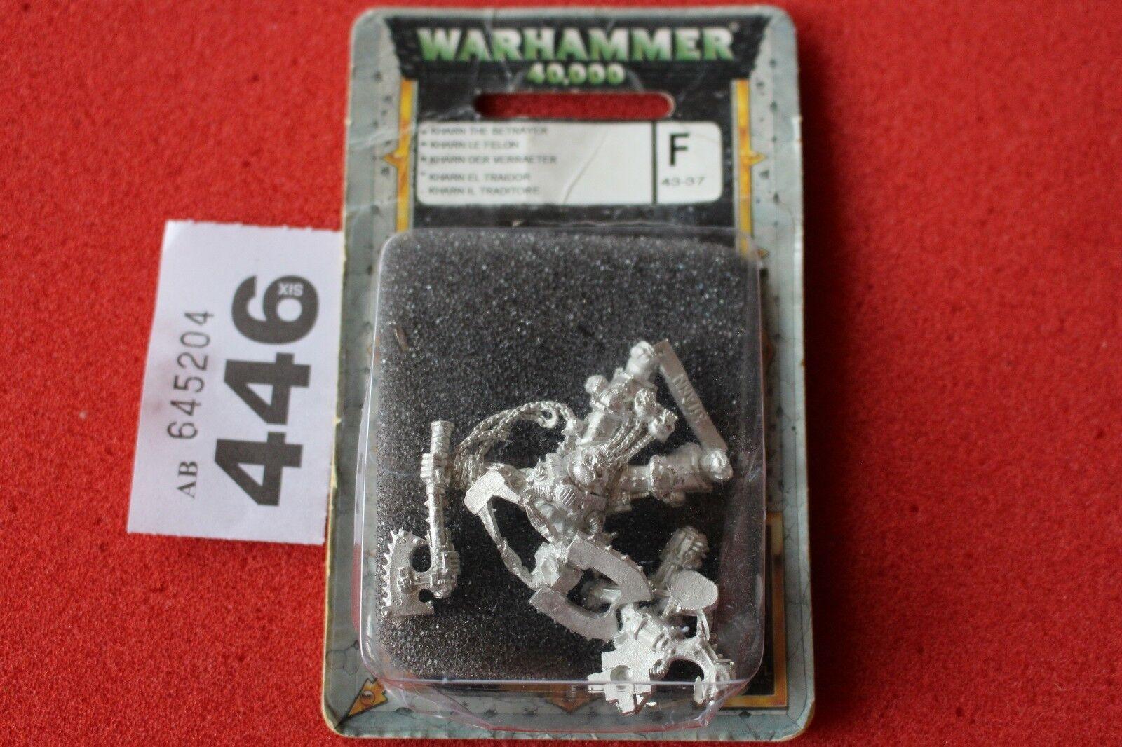 Spiele warhammer 40k workshop kh â rn der verräter metal - klassiker wh40k kharn neue gw