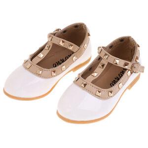 Chaussures-Pour-Enfant-Ballet-Sandales-Paire-Blanc-Accessoire-De-Danse-Fille