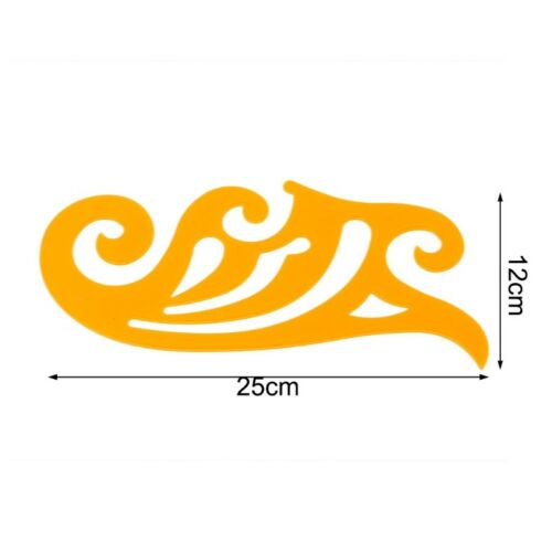 20//25//30cm French Curve Templates Graphic Ruler Drawing Tool Sewing Tailor