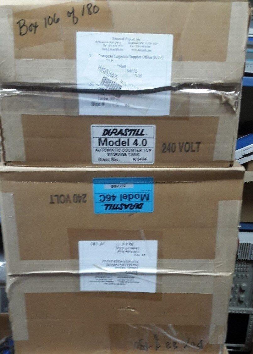 Durastill 46C and Durastill Durastill Durastill 4.0 New Open Box d565e4