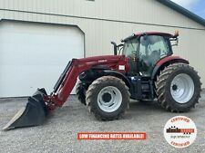 2018 Case Ih Maxxum 115 Mc Tractor With Loader Cab 4x4 3 Rear Remotes 514 Hrs