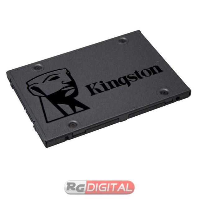 """Kingston SSD A400 120GB HARD DISK Drive Stato Solido 2.5"""" SATA 3 SA400S37/120G"""