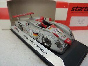 Starter Resine Build Factory Lm001 Audi R8 R N° 1 Le Mans 2001 Neuf En Boite