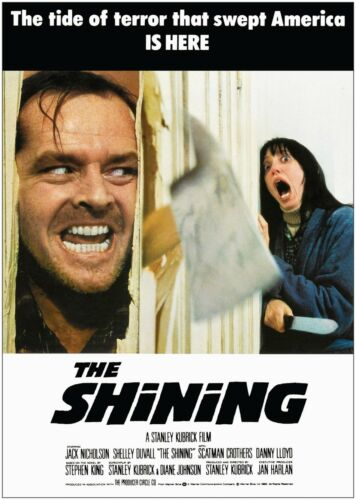 The Shining Classic Vintage Large Movie Poster Print A0 A1 A2 A3 A4 Maxi