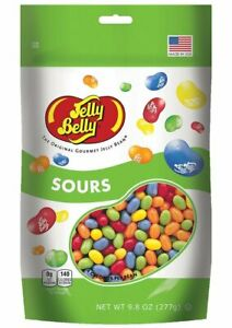 Gourmet-SOURS-Jelly-Belly-Candy-Jelly-Beans-9-8-OZ-Stand-Up-Pouch-Bag-FRESH