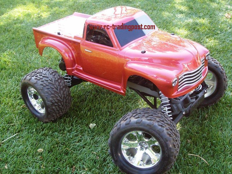 Early '50s Chevy Pickup Custom Painted 1/10 RC Monster ...