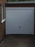 Fully Installed Garador Hormann Carlton White Includes Steel Frame Installed