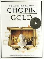 Chopin Gold The Easy Piano Collection Book Cd 50% Off