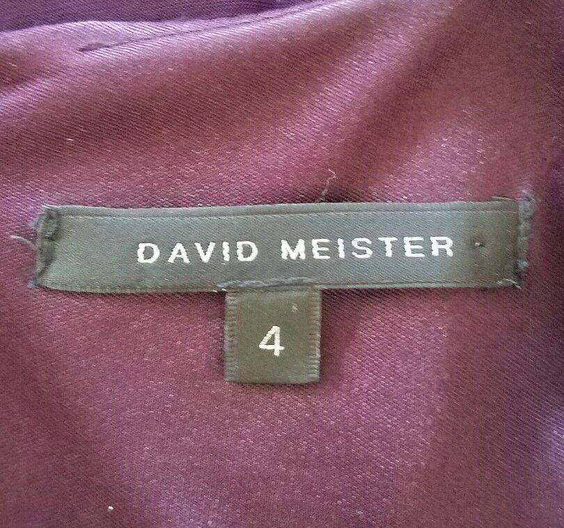 David David David Meister Donna 4 Vestito con Fodero Rushed avanti senza Maniche 4200a6