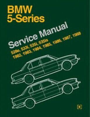 Bmw 5 Series E28 Service Repair Workshop Manual 1982-1988 528E 533I 535I 535Is