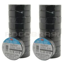 20 Pcs Black Electrical 3m Temflex Vinyl Tape 165 34 X 60 Ft Free Shipping