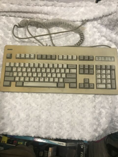 Vintage NCR HO150-STD1-12-17 Mechanical Computer Keyboard NT