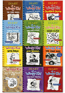 Diary of a wimpy kid collection 12 books set pack by jeff kinney the image is loading diary of a wimpy kid collection 12 books solutioingenieria Image collections
